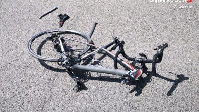 Photo of Kolejny wypadek kolarzy. Stan chłopców poważny