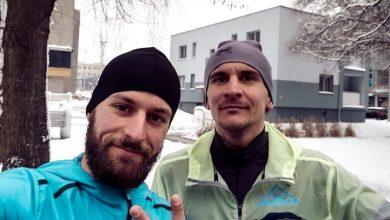 Photo of Tomasz Brembor z nowym trenerem