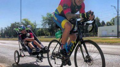 Photo of Tandem ojciec z synem wystartuje w zawodach IRONMAN Gdynia